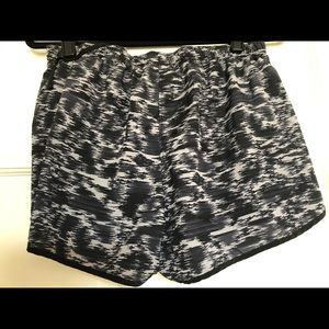 Workout shorts - grey/black pattern. Almost new.